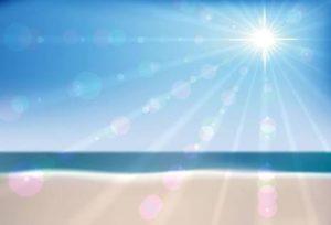 太陽 紫外線 海